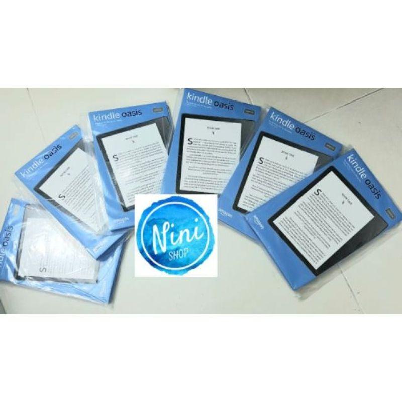 Máy đọc sách Kindle Oasis 3 bản 8gb bảo hành 1 năm sản phẩm tốt độ bền cao cam kết sản phẩm nhận được như hình và mô tả