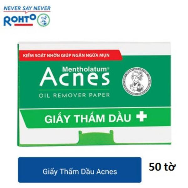 Combo 4 Bịch Giấy thấm dầu Acnes Oil Remover Paper (50 tờ/bich ) - Hàng Mẫu tốt nhất