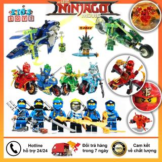 Đồ chơi trẻ em, xếp hình lego ninjago cho bé, đồ chơi lego thông minh, thiết kế hiện đại, chất liệu an toàn thumbnail