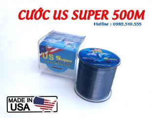 Cước Mỹ US SUPER 500m - Cước Tàng hình, Chống mài mòn, Chống Xoắn thumbnail