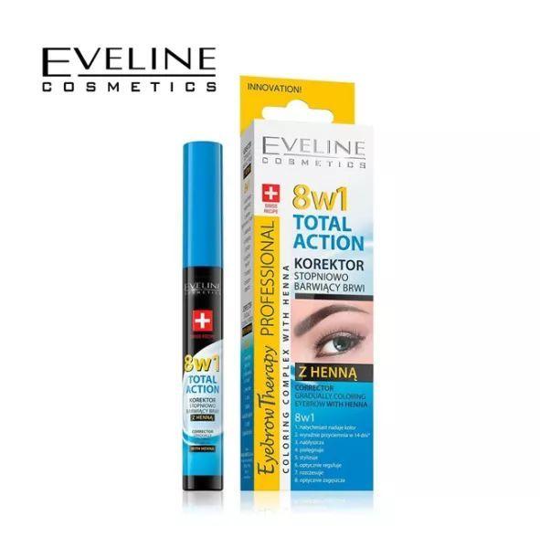 Huyết Thanh Dưỡng Chân Mày Eveline 8B1 Total Action Eyebrow - 356 giá rẻ