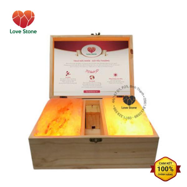 Hộp Đá Muối Massage Chân Himalaya Love Stone Magic (Đá cong)