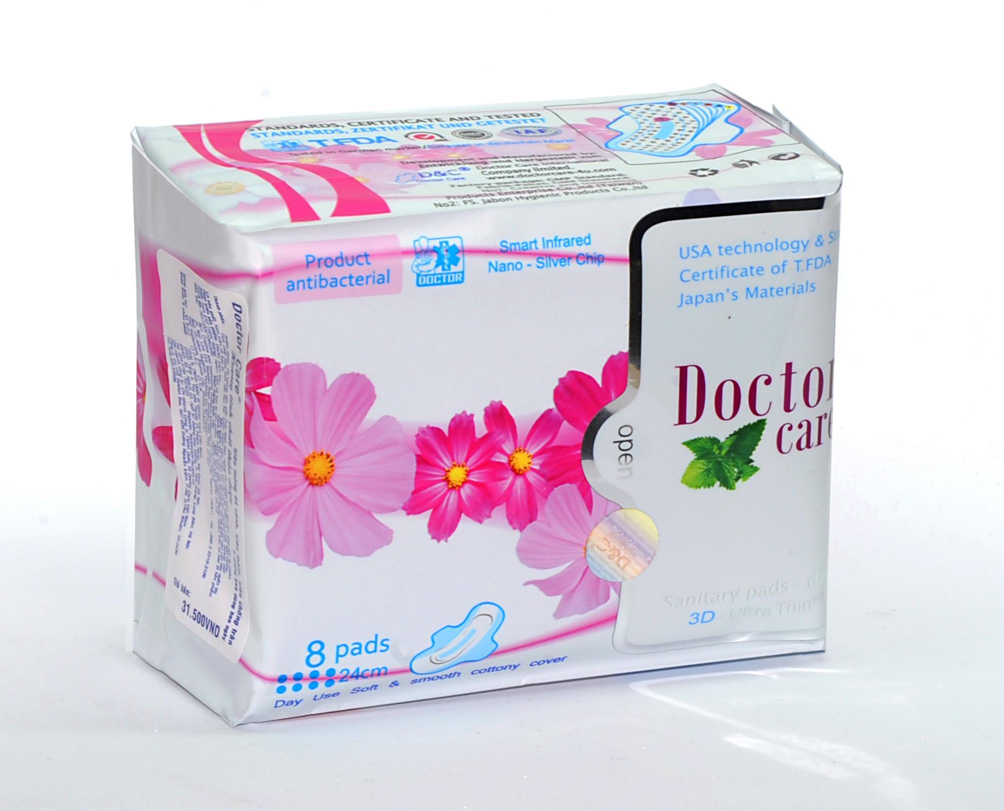 Doctor Care/Băng vệ sinh thảo dược Doctor Care ban ngày nhập khẩu