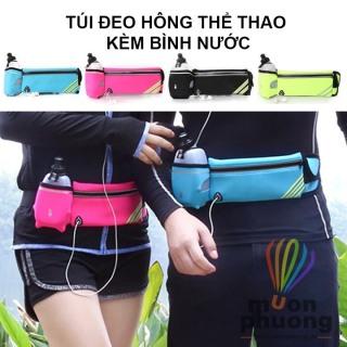 Túi Đeo Hông Chạy Bộ Có Ngăn Đựng Bình Nước tiện lợi- Túi thể thao đa năng TTC4-Túi bao tử thumbnail