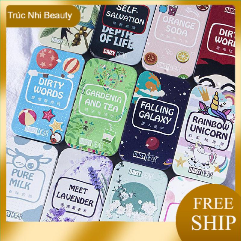 Nước Hoa Khô Dạng Sáp Daisy Dear, Nước Hoa Hộp Nhỏ Xinh Xắn 12 mùi hương thơm cho cả nam và nữ, Truc nhi Beauty