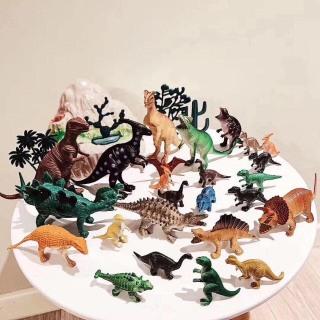 Bộ đồ chơi khủng long 32 chi tiết - Mô hình đồ chơi khủng long - Bộ đồ chơi mô hình thế giới khủng long sinh động - GIA DỤNG 4 PHƯƠNG thumbnail