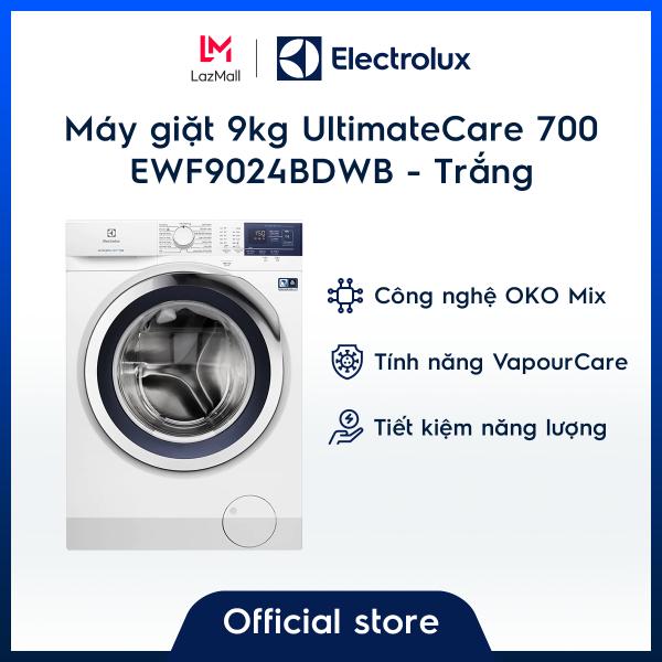 Bảng giá [Miễn phí lắp đặt - giao hàng HCM & HN] Máy giặt 9kg UltimateCare 700 EWF9024BDWB – Màu Trắng - OKO Mix - Công nghệ Auto Sense - Tiết kiệm năng lượng - Hàng chính hãng Điện máy Pico