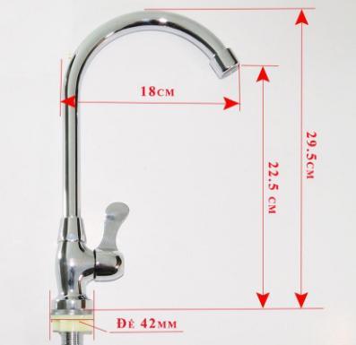 Vòi rửa bát, vòi rửa chén lạnh tiết kiệm nước