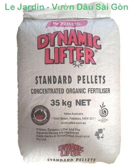 Phân Hữu Cơ Viên Nén - Phân Dynamic Lifter Standard Pellets 1Kg (xuất xứ Australia)