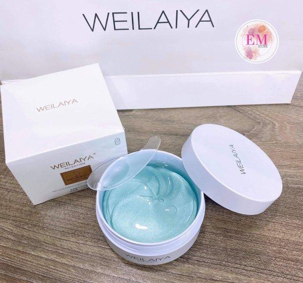 Mặt nạ mắt Weilaiya Hydra-Essential Tight Eye Mask 60 miếng nhập khẩu