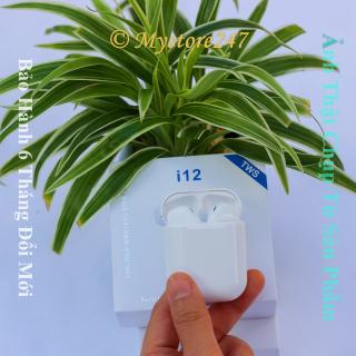 Tai Nghe Bluetooth I12 , Cảm Biến Vân Tay, Tai Nghe I12 Auto Kết Nối, Bảo Hành 6 Tháng Đổi Mới. Mystore247 Bh 12Tháng thumbnail