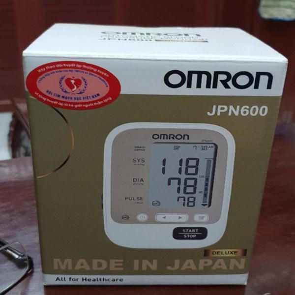 Máy đo huyết aps tự động bắp tay omron JPN600(Nhật Bản)