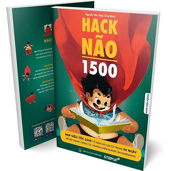 ( BÊN TRONG SÁCH CÓ MÀU ) Hack Não 1500 Từ Tiếng Anh 2019