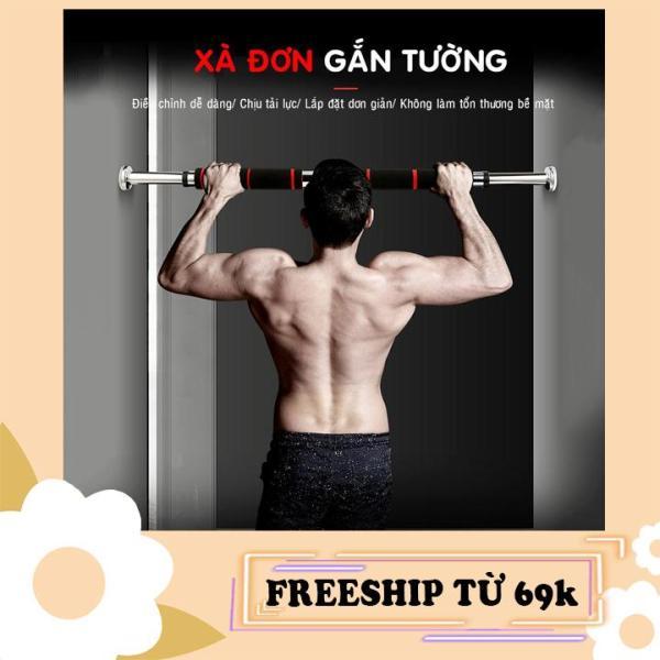Xà đơn treo tường gắn cửa nhiều cỡ từ 62-150cm kích thước có thể tùy chỉnh phù hợp tập gym thể thao tại nhà tăng cơ bắp