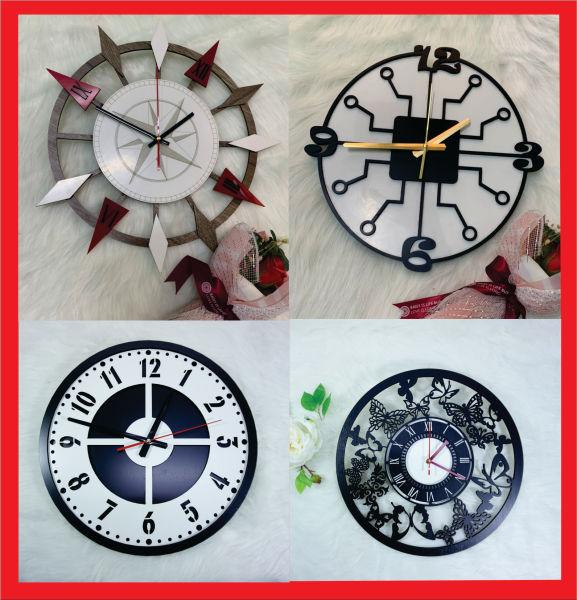 Đồng hồ treo  tường nghệ thuật. Đồng hồ  treo tường Decor trang trí bán chạy