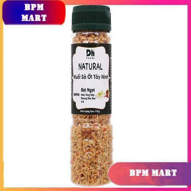 Muối sả ớt Tây Ninh Natural hũ 110g - Dh Foods - GIA VỊ NẤU ĂN - GIA VỊ NÊM NẾM - MUỐI CHẤM HOA QUẢ - BPMart