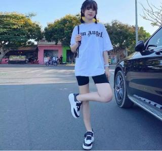 Bộ nữ tập gym, set bộ quần legging phối áo thun form rộng chơi thể thao siêu thoải mái thoáng mát, bộ ngủ nữ mặc nhà [ BỘ LEGGING] thumbnail