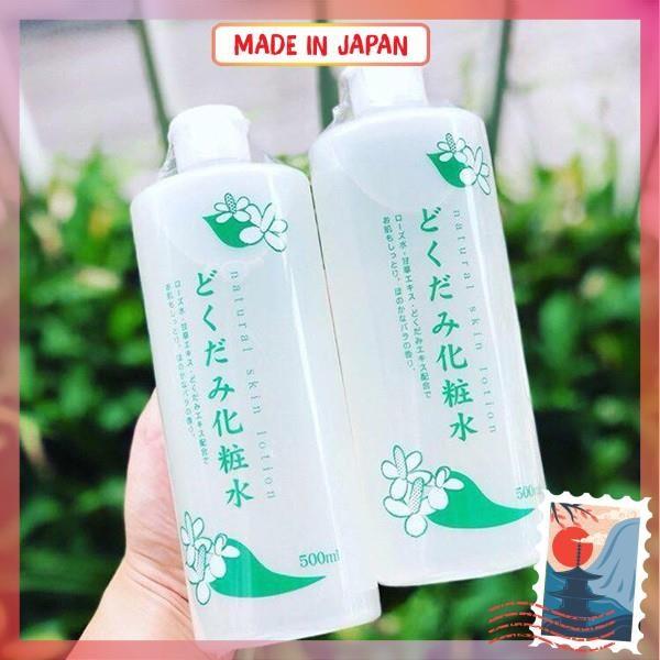 [Nội Địa Nhật] 500Ml Nước Hoa Hồng Dokudami Natural Skin Lotion Nước Hoa Hồng Diếp Cá Nhật Bản