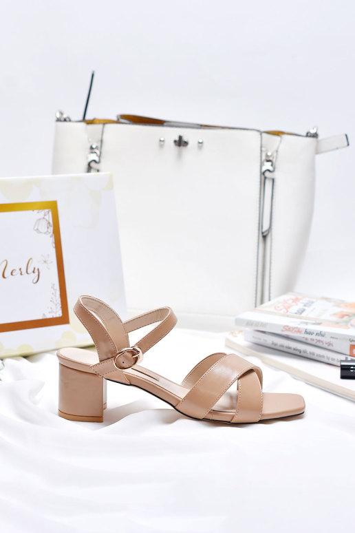 Giày sandal quai chéo Merly 1176 giá rẻ