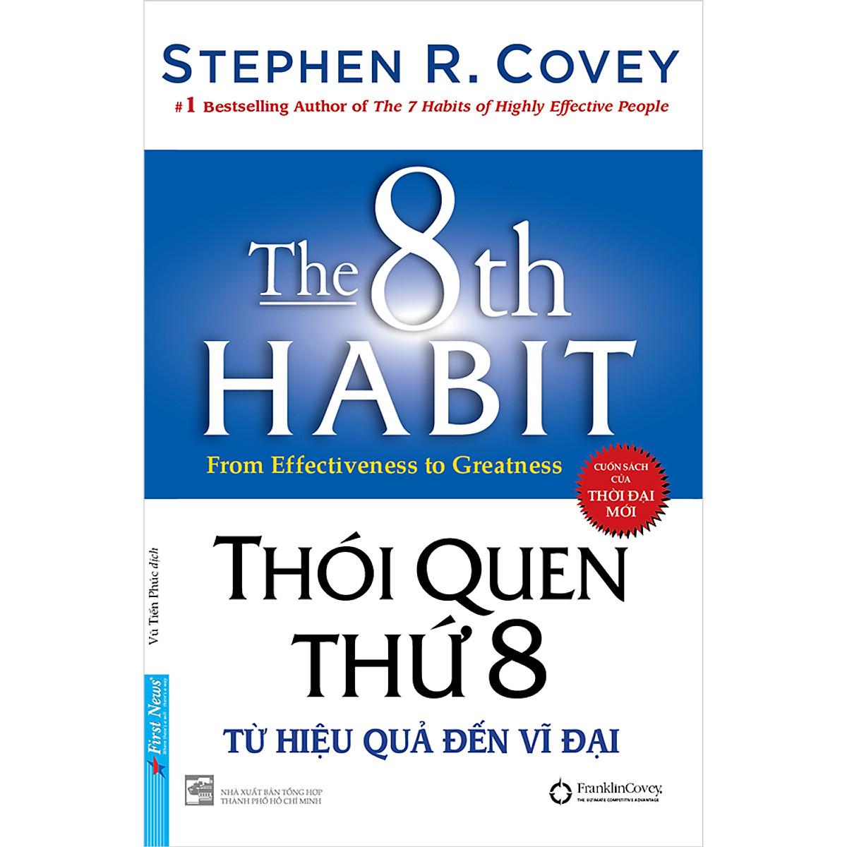 Coupon Giảm Giá Thói Quen Thứ 8 - Từ Hiệu Quả Đến Vĩ Đại (Bìa Cứng)