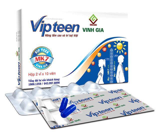 pre-vipteen tăng chiều cao tối đa cho tuổi dậy thì từ 10 -18 tuổi