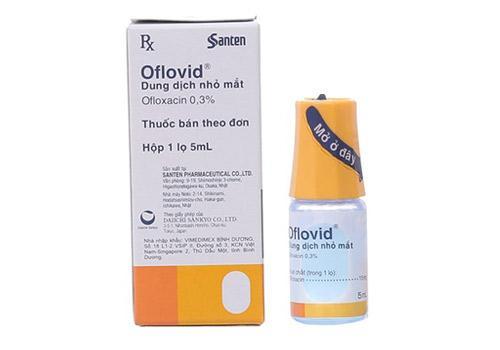 Nhỏ mắt Oflovid ( lọ 5ml) nhập khẩu
