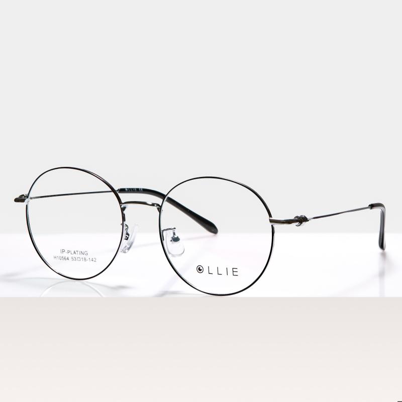 Giá bán Gọng kính cận kim loại FARELLO kiểu giáng thời trang, mắt tròn cá tính phù hợp với nhiều khuôn mặt Alva - 10564