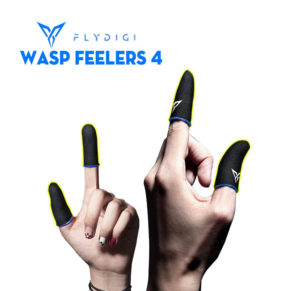 [ PHIÊN BẢN MỚI ] Flydigi Wasp Feelers 4   Găng tay chơi game PUBG, Liên quân, chống mồ hôi, cực nhạy, co giãn cực tốt