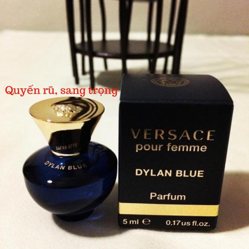[Mini] Nước Hoa Nữ Versace Dylan Blue Pour Femme Eau De Parfum 5ml