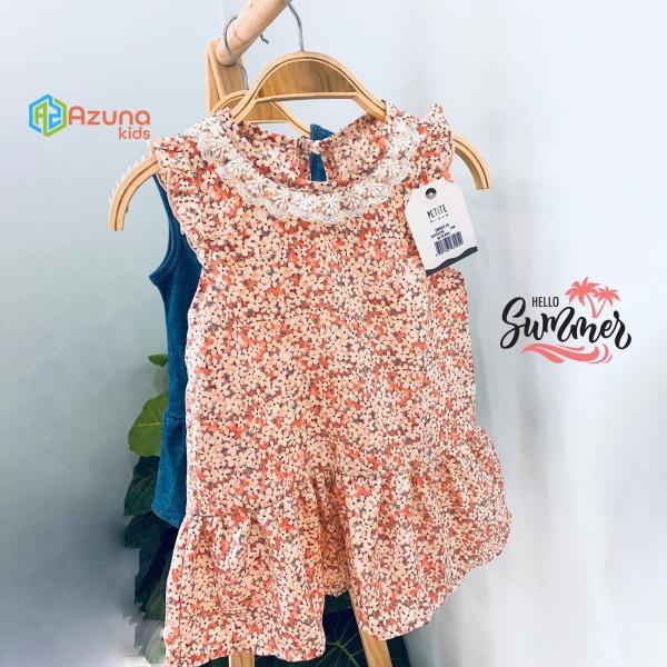 Giá bán Váy bé gái Petite Mieux Hoa mùa hè – đầm cho bé xuất hàn