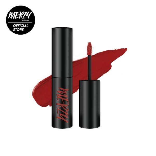 Son kem lì Merzy The First Velvet Tint màu đỏ gạch V6 – Firenze Negroni 4,5g [Chính Hãng]