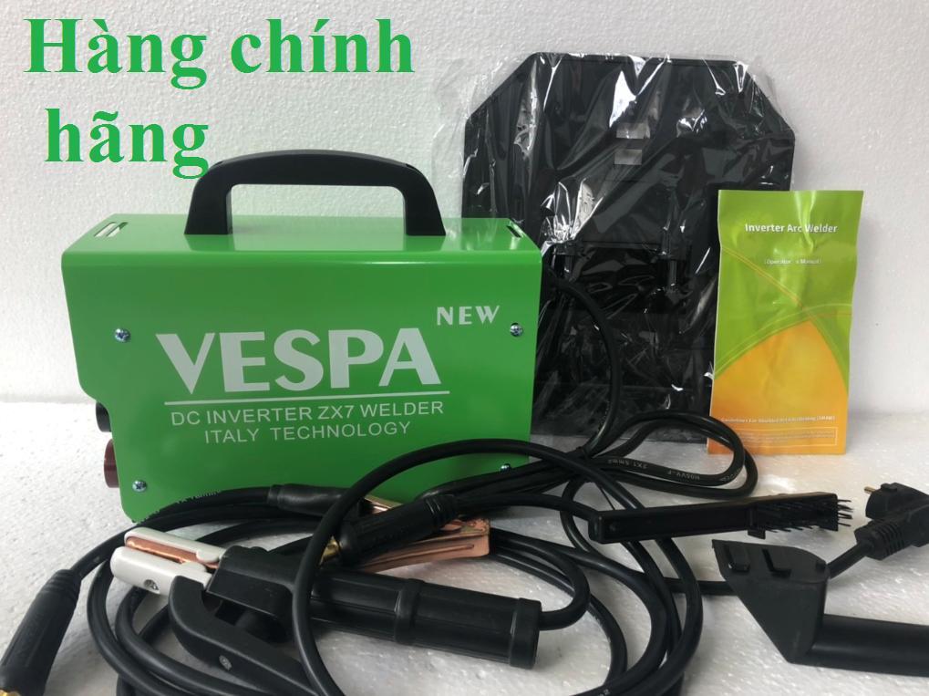 Máy hàn điện tử VESPA sản xuất theo công nghệ mới, giá ưu đãi, nhiều phụ kiện đi kèm