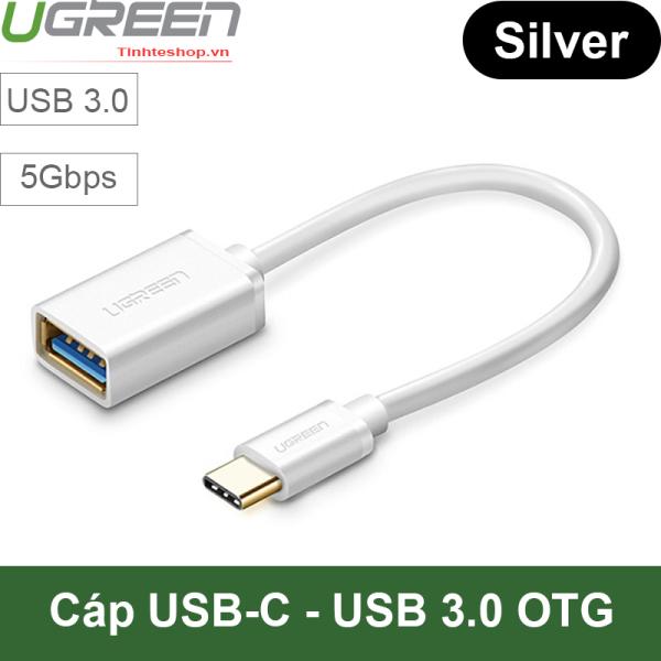 Bảng giá USB type-C 3.1 sang USB 3.0 adapter OTG - USB 3.0 cái ra USB-C đực OTG cho Smartphone Tablet Macbook Chrome Book Surface Ugreen 30645 Phong Vũ