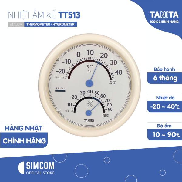 Nhiệt ẩm kế cơ học TANITA TT513 bị Hỏng Bao Bì (BH 6 tháng) Chính hãng nhật,Nhiệt ẩm kế cơ,Nhiệt ẩm kế điện tử,Nhiệt ẩm kế nhật,Nhiệt ẩm kế chính xác,Nhiệt ẩm kế phòng,Nhiệt ẩm kế cho trẻ sơ sinh,Nhiệt ẩm kế treo tường bá