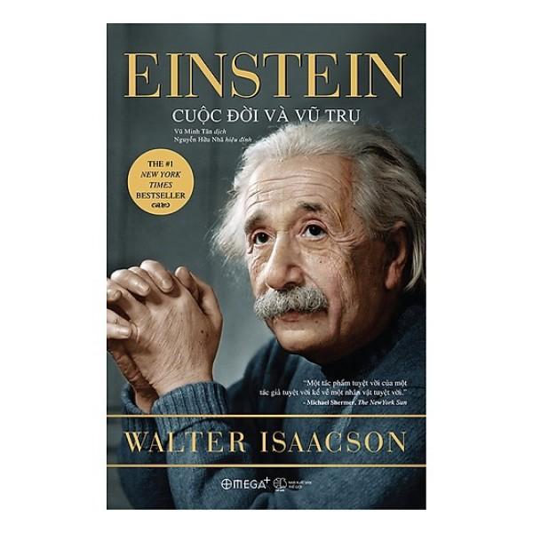 Mua Sách - Einstein cuộc đời và vũ trụ 289k Tặng Kèm Bookmark
