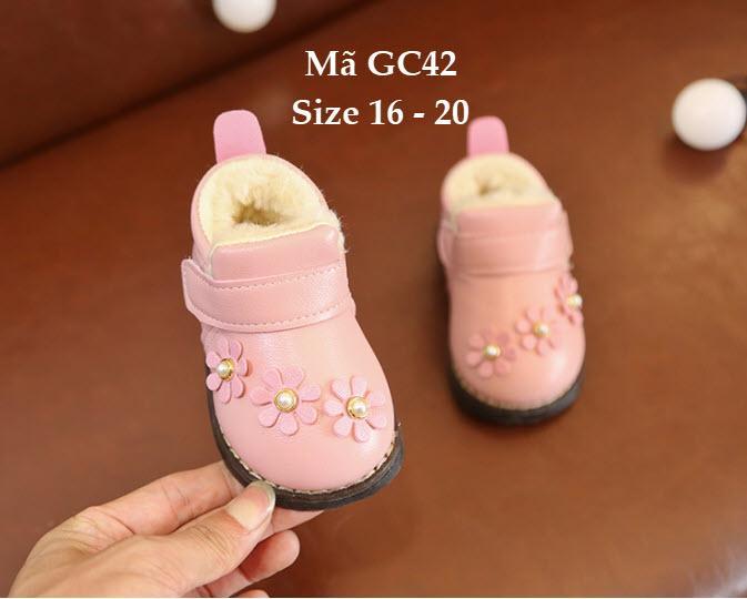 Giá bán Giày bốt cho bé gái 6 - 18 tháng GC42