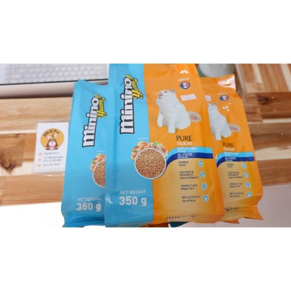 Thức Ăn Minino YUM Cho Mèo 350G Minino Tuna 480g