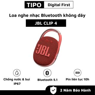 Loa Bluetooth JBL Clip 4 - Loa Nghe Nhạc Công Suất Lớn 5W - Loa Bluetooth Bass Mạnh - Kháng Nước và Bụi IP67 - Chơi Nhạc 10h - Móc Treo Đa Năng - Kiểu Dáng Di Động, Chất Chơi - Kết Nối Nhanh Với Bluetooth 5.1 - Dùng Cho Máy Tính, LapTop thumbnail