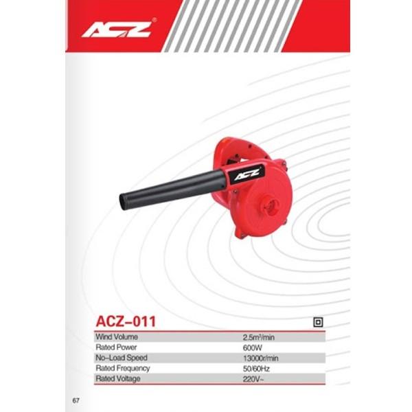 Máy thổi bụi ACZ-011-6 cấp độ điều chỉnh