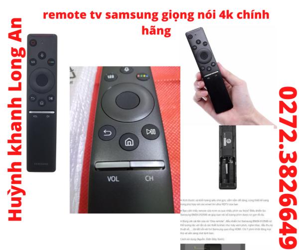 Bảng giá REMOTE TV GIỌNG NÓI SAMSUNG CHÍNH HÃNG