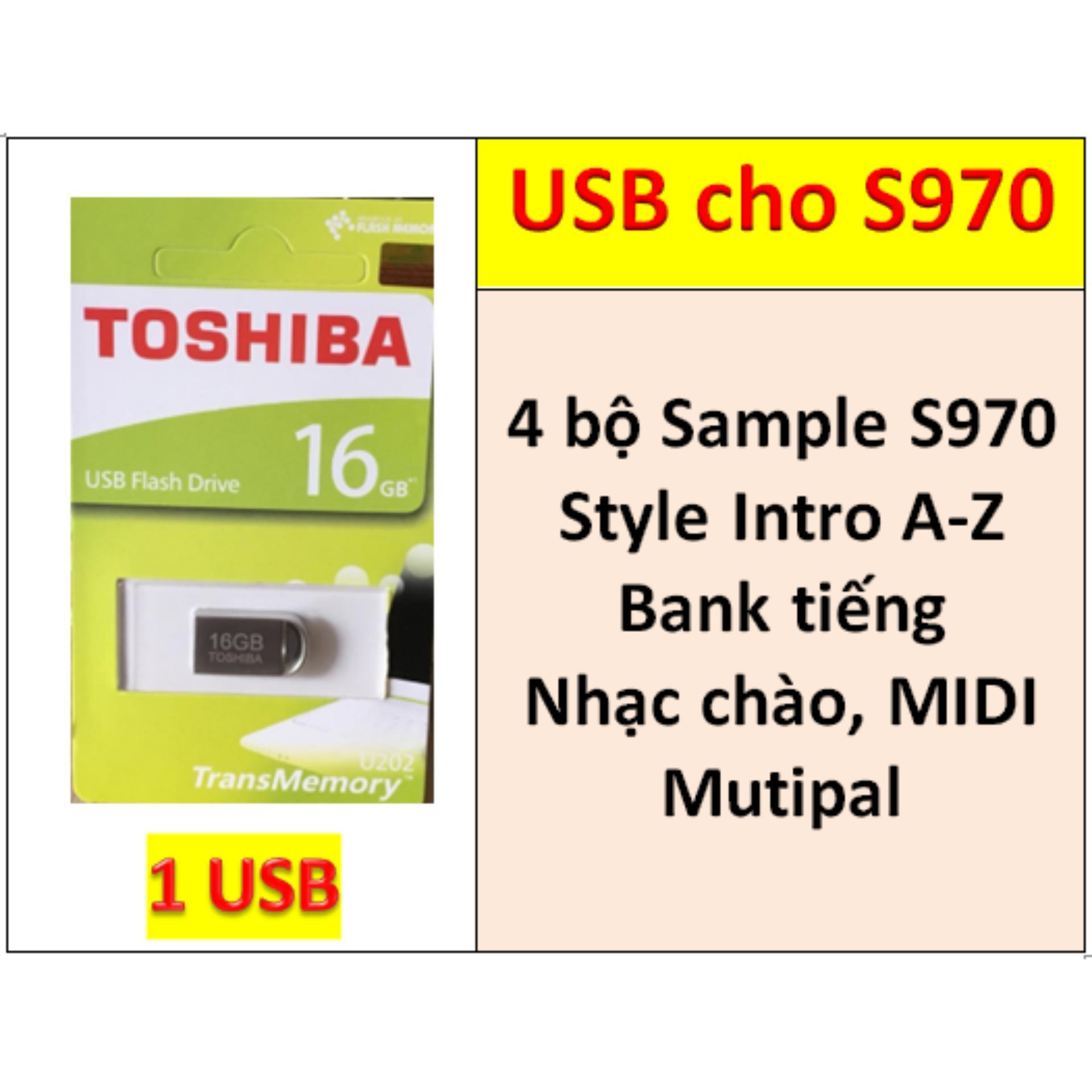 Mã Giảm Giá tại Lazada cho USB Mini 4 BỘ Sample Cho đàn Organ Yamaha PSR-S970, Style, Nhạc Chào, Songbook, Midi + Full Dữ Liệu Làm Show