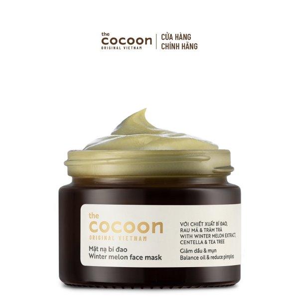 Mặt nạ bí đao Cocoon giảm dầu & mụn 30ml
