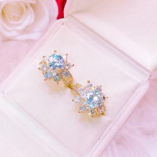 Nhẫn mạ vàng, nhẫn nữ đẹp Thái Lan đá pha lê hoa mai đính đá sáng lấp lánh phản chiếu sắc màu lung linh rực rỡ thiết kế sang trọng Trang sức GAMI N115 - làm quà tặng bất ngờ vô cùng ý nghĩa thumbnail