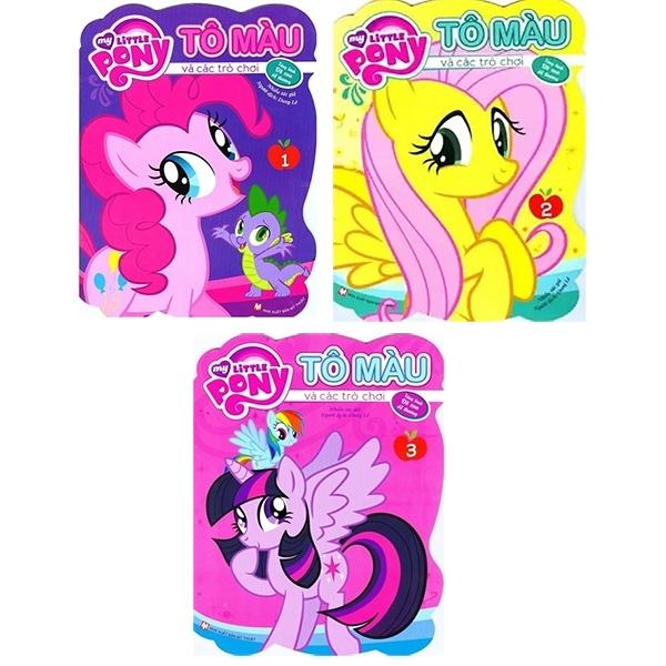 Mua Fahasa - Bộ Sách My Little Pony - Tô Màu Và Các Trò Chơi (Bộ 3 Cuốn)