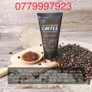 Kem (Gel) Tẩy Tế Bào Chết COFFEE Cho Da Mặt Dầu, Da Mụn, Da Nhạy Cảm Và Da Toàn Thân Body Tại Nhà thumbnail