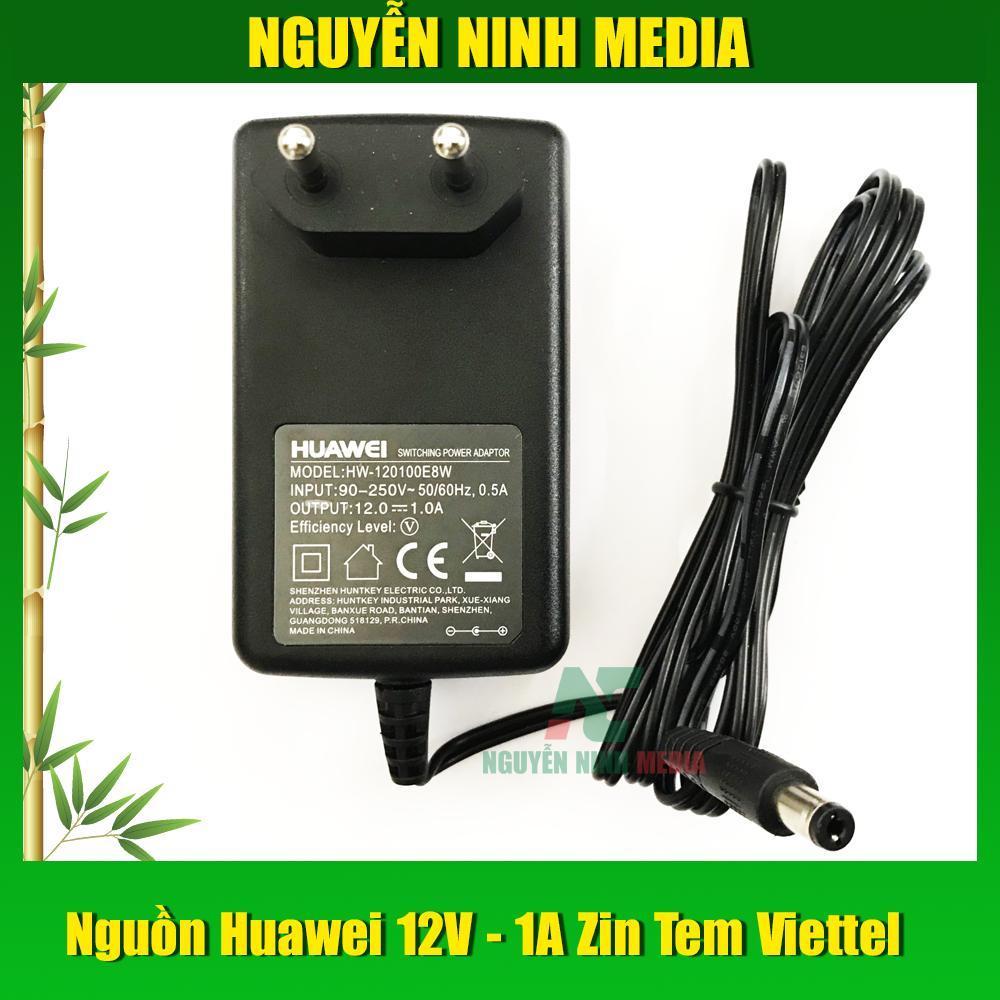 Nguồn Huawei 12V - 1A Cho Camera, Wifi, Dock Ổ Cứng Giá Giảm