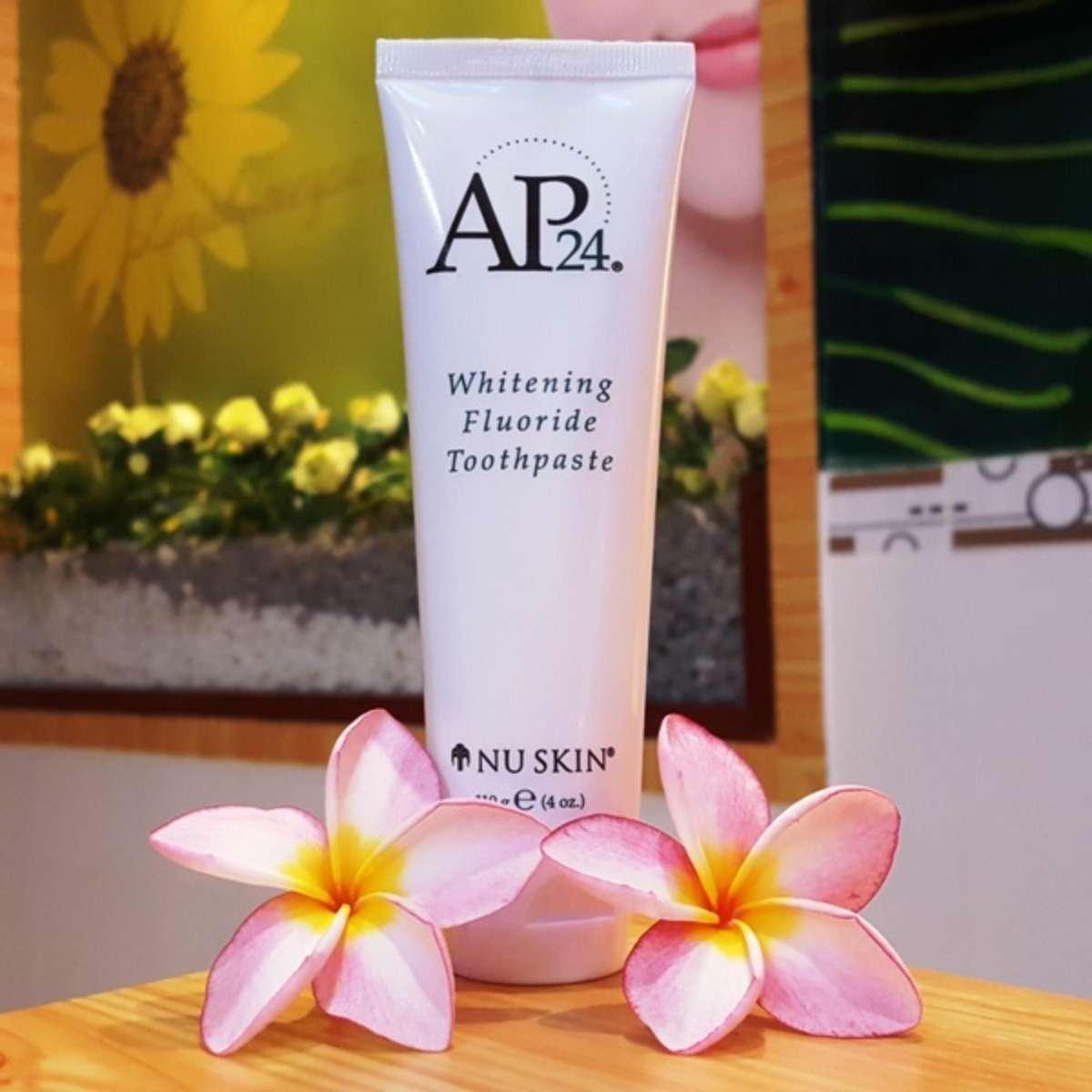 Kem đánh răng trắng sáng AP24 NuSkin whiteing flouride toothpaste CAM KẾT CHÍNH HÃNG chính hãng