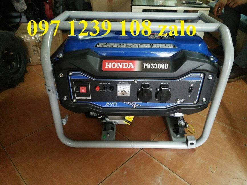 Máy phát điện dùng gia đình 3KW Honda PB3300B, hàng tốt