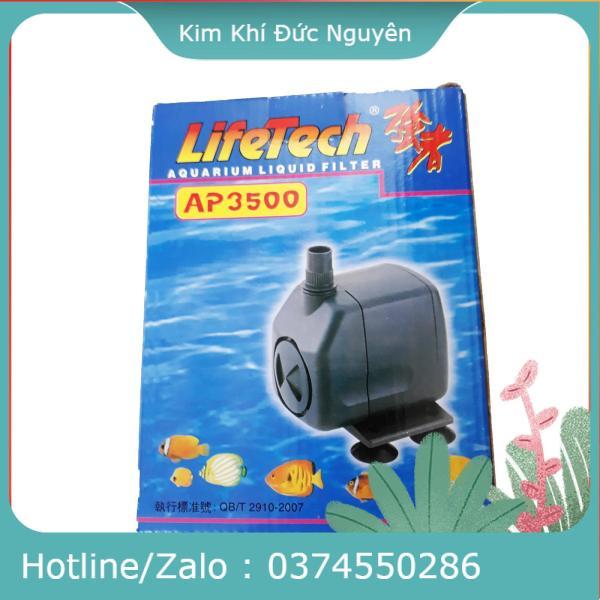 Máy Bơm Nước Hồ Cá LifeTech AP3500 Loại Tốt - Máy Bơm Nước Bể Cá Cao Cấp HÀNG CAO CẤP