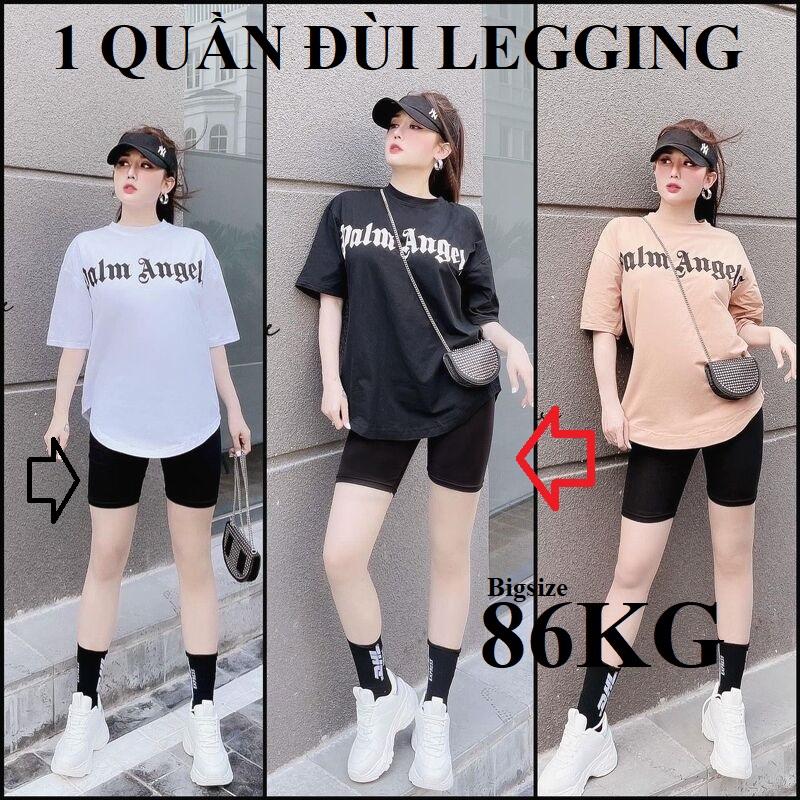 QUẦN LEGGING ĐÙI thiết kế 4 Túi HÀNG CAO CẤP HẢI NGÂN, có thêm BIGSIZE big size 3XL 4XL 5XL 6XL 7XL 86KG cho người mập, quần ngố nữ